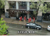 Memes, 🤖, and Flash: FLASH MOB