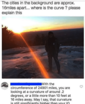Flat-Earther gets destroyed: Flat-Earther gets destroyed