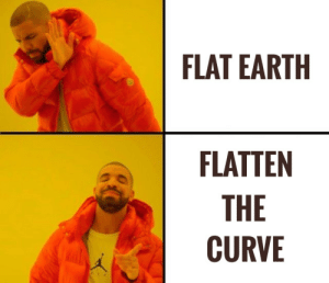 Flatten the Earth. Whoops I mean curve.: Flatten the Earth. Whoops I mean curve.