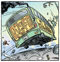 Memes, Http, and Comics: FLAVOR  EE My week's worth of rabble-rousing comics and commentary is here for your rabbly eyes. http://bizarro.com/2016/09/11/gum-delay/