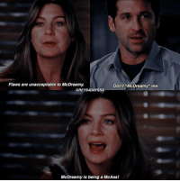 "Ugh I love their relationship 😂 #GreysAnatomy https://t.co/CMIerEUOOG: Flaws are unacceptable to McDreamy.  Don't ""McDreamy"" me  GREYS4DAYSSS  McDreamy is being a McAss! Ugh I love their relationship 😂 #GreysAnatomy https://t.co/CMIerEUOOG"