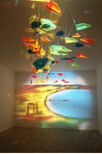 Target, Tumblr, and Best: fleurdulys:  uumans:  the-stray-liger:  turnthehourglassover:  intergalacticju:  opticallyaroused: A Painting Made From Pieces of Glass   that's amazing  i just realized it's not just pieces of glass they're shaped as paper planes the piece can be complete and aesthetically pleasing even when there is no projection this is so good and it makes me so happy  THIS IS ALSO SCIENCE. SCIENCE ART. THE BEST KIND OF ART.  it kinda annoys me when people post these things and they don't give credit to the artist. so the artist's name is Rashad Alakbarov and he's from Azerbaijan and he's done several other pieces using shadows :
