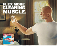 Watch the sexy #MrClean ad guaranteed to put you in the mood for spring cleaning: http://spr.ly/61898RPsS: FLEX MORE  CLEANING  MUSCLE.  EXTRA DURABLE  Clean  MagicEraser Watch the sexy #MrClean ad guaranteed to put you in the mood for spring cleaning: http://spr.ly/61898RPsS