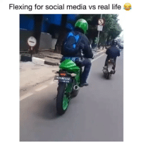 How it be 😂💀: Flexing for social media vs real life  NOONESIA How it be 😂💀