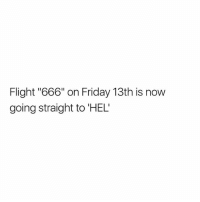 """DeMarcus Cousins, Friday, and Memes: Flight """"666"""" on Friday 13th is now  going straight to 'HEL This is for real 😰"""
