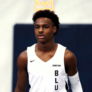 The Young KING.. Bronny James Jr @KingJames https://t.co/8yTqCizJMt: FLIGHT CLUB The Young KING.. Bronny James Jr @KingJames https://t.co/8yTqCizJMt