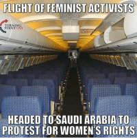 """FLIGHT OF FEMINIST ACTIVISTS  TURNING  POINT USA  HEADED TO SAUDI ARABIA TO  PROTEST FOR WOMENS RIGHTS Cause we all know that first world feminism is a joke... it's just another thing for unattractive women who can't find a man to blame men for. You're really gunna get """"offended"""" by a man holding the door for you? Or paying for dinner? Haha fine then open the door yourself, I'm sure you could use the exercise. You women are treated royally in the first world. Go to the Middle East and bitch at those fellas like you do to us, and watch how well that goes for you 😂😂😂 feminismiscancer firstworldfeminism liberals libbys democraps liberallogic liberal ccw247 conservative constitution presidenttrump resist stupidliberals merica america stupiddemocrats donaldtrump trump2016 patriot trump yeeyee presidentdonaldtrump draintheswamp makeamericagreatagain trumptrain maga Add me on Snapchat and get to know me. Don't be a stranger: thetypicallibby Partners: @theunapologeticpatriot 🇺🇸 @too_savage_for_democrats 🐍 @thelastgreatstand 🇺🇸 @always.right 🐘 @keepamerica.usa ☠️ TURN ON POST NOTIFICATIONS! Make sure to check out our joint Facebook - Right Wing Savages Joint Instagram - @rightwingsavages Joint Twitter - @wethreesavages Follow my backup page: @the_typical_liberal_backup"""