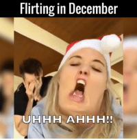Dank, 🤖, and Laura: Flirting in December Christmas brings out the worst in her 😂😂🎄  by Laura Clery