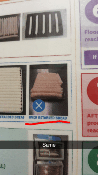 Retarded, Pro, and Bread: Floor  reach  If  AFT  pro  reac  ETARDED BREAD  OVER RETARDED BREAD  Same  AL) me🍞irl