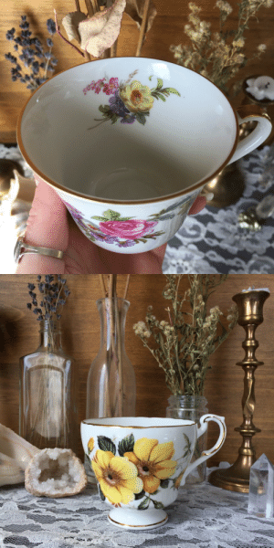 floralsgifts:  So many cute vintage tea cups are currently available at floralsgifts.com!! 💐🍵🌻✨: floralsgifts:  So many cute vintage tea cups are currently available at floralsgifts.com!! 💐🍵🌻✨