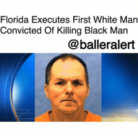 Florida Executes First White Man Convicted Of Killing Black Man - blogged by @RaquelHarrisTV ⠀⠀⠀⠀⠀⠀⠀ On Thursday, August 24th, Florida broke its own history. The state, for the first time ever, executed a white man for killing a black man since the death penalty was reinstated 47 years ago. ⠀⠀⠀⠀⠀⠀⠀ Fifty-three-year-old Mark James Asay – a former white supremacist gang member – was executed by lethal injection for two racially motivated, and premeditated murders he committed on the same day in Jacksonville in 1987. He was convicted by a jury in 1988 with a vote of nine to three. ⠀⠀⠀⠀⠀⠀⠀ His two victims were Robert Lee Booker, 34, (African American) and Roger McDowell, 26, (white-Hispanic). After making multiple racial comments, Booker was shot, prosecuters said. ⠀⠀⠀⠀⠀⠀⠀ McDowell was a cross-dresser who was white and Hispanic at the time of his Murder. ⠀⠀⠀⠀⠀⠀⠀ According to officials, Asay hired McDowell for oral sex and shot him six times once he discovered his gender. ⠀⠀⠀⠀⠀⠀⠀ Even though Asay is the first white man to be executed in Florida for killing a Black man, there have been at least 20 Black men who have been executed for killing white victims since the death penalty was reinstated in 1976, according to research from the Death Penalty Information Center. ⠀⠀⠀⠀⠀⠀⠀ Asay was pronounced dead at 6:22pm at the state prison at Starke. His death was made up of a three-drug injections that started with anesthetic and etomida.: Florida Executes First White Man  Convicted Of Killing Black Man  @balleralert Florida Executes First White Man Convicted Of Killing Black Man - blogged by @RaquelHarrisTV ⠀⠀⠀⠀⠀⠀⠀ On Thursday, August 24th, Florida broke its own history. The state, for the first time ever, executed a white man for killing a black man since the death penalty was reinstated 47 years ago. ⠀⠀⠀⠀⠀⠀⠀ Fifty-three-year-old Mark James Asay – a former white supremacist gang member – was executed by lethal injection for two racially motivated, and premeditated murders he committed on the same day in Jacksonville in 1987. He was convicted by a jury in 1988 with a vote of nine to three. ⠀⠀⠀⠀⠀⠀⠀ His two victims were Robert Lee Booker, 34, (African American) and Roger McDowell, 26, (white-Hispanic). After making multiple racial comments, Booker was shot, prosecuters said. ⠀⠀⠀⠀⠀⠀⠀ McDowell was a cross-dresser who was white and Hispanic at the time of his Murder. ⠀⠀⠀⠀⠀⠀⠀ According to officials, Asay hired McDowell for oral sex and shot him six times once he discovered his gender. ⠀⠀⠀⠀⠀⠀⠀ Even though Asay is the first white man to be executed in Florida for killing a Black man, there have been at least 20 Black men who have been executed for killing white victims since the death penalty was reinstated in 1976, according to research from the Death Penalty Information Center. ⠀⠀⠀⠀⠀⠀⠀ Asay was pronounced dead at 6:22pm at the state prison at Starke. His death was made up of a three-drug injections that started with anesthetic and etomida.