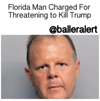 "Florida Man Charged For Threatening Trump Online – blogged by @MsJennyb ⠀⠀⠀⠀⠀⠀⠀⠀⠀ ⠀⠀⠀⠀⠀⠀⠀⠀⠀ With the inauguration around the corner, Americans are executing their final attempts to prevent a Donald Trump presidency, even if it includes breaking the law. ⠀⠀⠀⠀⠀⠀⠀⠀⠀ ⠀⠀⠀⠀⠀⠀⠀⠀⠀ According to ABC News, a Florida man was arrested after threatening to kill the President-elect in a video posted online. ⠀⠀⠀⠀⠀⠀⠀⠀⠀ ⠀⠀⠀⠀⠀⠀⠀⠀⠀ On Monday, the suspect, who has been identified as 51-year-old DominicPuopolo, posted a video on his Twitter account, revealing his plan to assassinate Trump. He said, he would ""be at the review-inauguration and I will kill President Trump, President-elect Trump"" while in Washington D.C. ⠀⠀⠀⠀⠀⠀⠀⠀⠀ ⠀⠀⠀⠀⠀⠀⠀⠀⠀ Shortly after the video posted, officials picked Puopolo up at a Subway restaurant in Miami Beach. He admitted to posting the video and revealed to the officers that he was homeless. ⠀⠀⠀⠀⠀⠀⠀⠀⠀ ⠀⠀⠀⠀⠀⠀⠀⠀⠀ According to reports, Puopolo has been charged for threatening harm against a public servant and is being held without bail.: Florida Man Charged For  Threatening to Kill Trump  oballeralert Florida Man Charged For Threatening Trump Online – blogged by @MsJennyb ⠀⠀⠀⠀⠀⠀⠀⠀⠀ ⠀⠀⠀⠀⠀⠀⠀⠀⠀ With the inauguration around the corner, Americans are executing their final attempts to prevent a Donald Trump presidency, even if it includes breaking the law. ⠀⠀⠀⠀⠀⠀⠀⠀⠀ ⠀⠀⠀⠀⠀⠀⠀⠀⠀ According to ABC News, a Florida man was arrested after threatening to kill the President-elect in a video posted online. ⠀⠀⠀⠀⠀⠀⠀⠀⠀ ⠀⠀⠀⠀⠀⠀⠀⠀⠀ On Monday, the suspect, who has been identified as 51-year-old DominicPuopolo, posted a video on his Twitter account, revealing his plan to assassinate Trump. He said, he would ""be at the review-inauguration and I will kill President Trump, President-elect Trump"" while in Washington D.C. ⠀⠀⠀⠀⠀⠀⠀⠀⠀ ⠀⠀⠀⠀⠀⠀⠀⠀⠀ Shortly after the video posted, officials picked Puopolo up at a Subway restaurant in Miami Beach. He admitted to posting the video and revealed to the officers that he was homeless. ⠀⠀⠀⠀⠀⠀⠀⠀⠀ ⠀⠀⠀⠀⠀⠀⠀⠀⠀ According to reports, Puopolo has been charged for threatening harm against a public servant and is being held without bail."