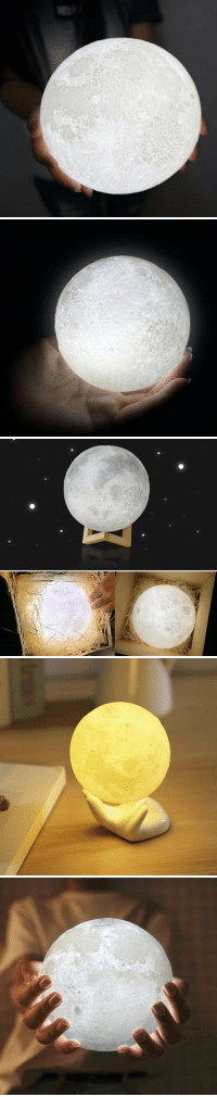 Life, Tumblr, and Blog: flower-whisper: One of a Kind Life Like Enchanting Lunar Moon Light Lamp! Soft Light to give off the Moonlight Vibe for the surrounding area! Make someone's Day with with one these Unique Lunar Moon Lamp! Currently on Sale and if you use the Code: MOON you get an additional Discount! = GET IT HERE =