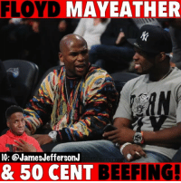 Mayweather let 50cent have it on IG today...🐸☕️: FLOYD MAYEATHER  gi  IG: @JamesJeffersonJ  & 50 CENT BEEFING. Mayweather let 50cent have it on IG today...🐸☕️