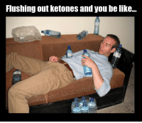 Be Like, You, and Ketones: Flushing out ketones and you be like...  abetes