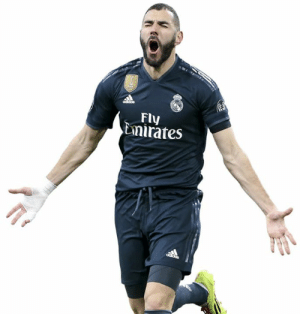Benzema has been our best player this season. Period. Don't you even dare talk sh*t about him.: Fly  Emirates Benzema has been our best player this season. Period. Don't you even dare talk sh*t about him.