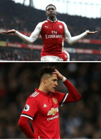 Goals, Soccer, and Emirates: Fly  Emirates   CHEVROLİ Danny Welbeck has scored more goals this season than Alexis Sanchez has in the whole of 2018. https://t.co/8Tz6wCQWq1