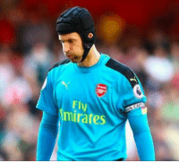 Arsenal, Chelsea, and Goals: Fly  mirates Petr Cech has conceded more goals in 3 YEARS at Arsenal🔴 than he did during his 11 YEARS at Chelsea🔵.  Madness. 😳 https://t.co/VtGnVjB8Vq