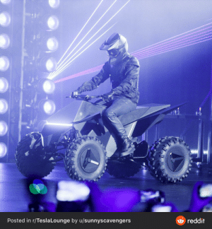 Tesla Atv- design is all form no function. Rider sits too high on vehicle and will be thrown effortlessly. Handle bars too low and too close making for a back breaking riding experience. Aesthetics 10/10. Practicality 2/10.: FLY  Posted in r/Tesla Lounge by u/sunnyscavengers  reddit Tesla Atv- design is all form no function. Rider sits too high on vehicle and will be thrown effortlessly. Handle bars too low and too close making for a back breaking riding experience. Aesthetics 10/10. Practicality 2/10.