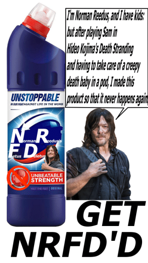 """""""High Effort"""" meme, Norman Reedus please stop advertising in Death Stranding: 