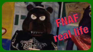 FNAF Real Life Pictures of Chuck E Cheese Animatronic Five