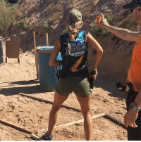 Goals, Memes, and Respect: FOCK ISLA  RMOR Throwback to last Sunday, My 1st USPSA match. Much respect to all the competition shooters out there. And @rockislandarmory for my amazing 1911 build ❤️ You must have long term goals to keep you from being frustrated by short term failures. Let failure be your fuel to propel you forward. 💪🏼🙏🏼 grateful positive focused grind werk uspsa competition