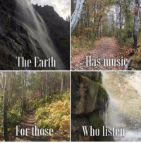 """Memes, Music, and Connected: FoE those  Who lister """"The earth has its music for those who will listen..."""" - Reginald Vincent Holmes  Pantheism: Everything is Connected, Everything is Divine  Pantheism.com. Now in Beta testing"""