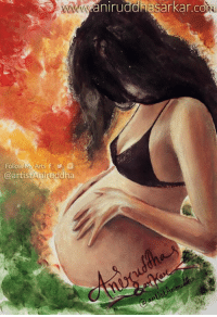 Memes, Waves, and The Doctor: Follo  @artist Aniruddha  aniruddhasarkar.co || STORY OF AN UNBORN GIRL || Mommy, I am only 8 inches long, but I have all my organs. I love the sound of your voice. Every time I hear it, I wave my arms and legs. The sound of your heart beat is my favorite lullaby. Month Two… Mommy, today I learned how to suck my thumb. If you could see me, you could definitely tell that I am a baby. I'm not big enough to survive outside my home though. It is so nice and warm in here. Month Three… You know what Mommy, I'm a girl! I hope that makes you happy. I always want you to be happy. I don't like it when you cry. You sound so sad. It makes me sad too, and I cry with you even though you can't hear me. Month Four... Mommy, my hair is starting to grow. It is very short and fine, but I will have a lot of it. I spend a lot of my time exercising. I can turn my head and curl my fingers and toes, and stretch my arms and legs. I am becoming quite good at it too. Month Five… You went to the doctor today. Mommy, he lied to you. He said that I'm not a baby. I am a baby Mommy, your baby. I think and feel. Mommy, what's abortion? Month Six… I can hear that doctor again. I don't like him. He seems cold and heartless. Something is intruding my home. The doctor called it a needle. Mommy what is it? It burns! Please make him stop! I can't get away from it! Mommy! Help me! Month Seven… Mommy, I am okay. I am in God's arms. He is holding me. He told me about abortion. Why didn't you want me Mommy? Every abortion is… One more heart that was stopped. Two more eyes that will never see. Two more hands that will never touch. Two more legs that will never run. One more mouth that will never speak. Let us resolve as Logical Indians to never ever buckle under familial or social pressure to kill our baby girls. Stand up proudly against this social evil - oppose this, and report it to the police even if it happens within our own families. We can put a stop to this practice if we
