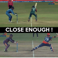 Pretty much similar stuff by MS Dhoni !  Watch the Video here ==> https://goo.gl/n3PjxG: follow .ice antal NISSA  t follow eicc awt20  icc-cricket.com  cricket.  cket.com  WIKI  SPOR  CLOSE ENOUGH  SPORTZ  WIK Pretty much similar stuff by MS Dhoni !  Watch the Video here ==> https://goo.gl/n3PjxG