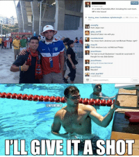 That awkward moment when a #TeamUSA fan mistakes Andrew Luck for Michael Phelps! #WorldCup Credit: Soccer Memes: Follow  It's a total TeamUSA effort including the swim team,  MP in the house!  franny mae huckabeee kytietierneys and 96 others kke  young fig  that's dope man  gaby..san15  Should of taken me with you  You know that's Andrew Luck not Michael Phelps right?  chuy.10  That's Andrew Huck, not Michael Phelps  Jesus11mata  I've had so much Budweiser l vould be surprised ir  thought he was Bob Barker  Jesus 11mata  Ochuy,10 ocountdumonet  jesus 11mata  chief Keef 707  Leave comment.  CONFLMEMEZ  ILLGIVE IT A SHOT That awkward moment when a #TeamUSA fan mistakes Andrew Luck for Michael Phelps! #WorldCup Credit: Soccer Memes
