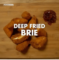 @teamfoodbible are so close to 500k followers. Give them a follow now!!: FOOD bible  DEEP FRIED  BRIE @teamfoodbible are so close to 500k followers. Give them a follow now!!