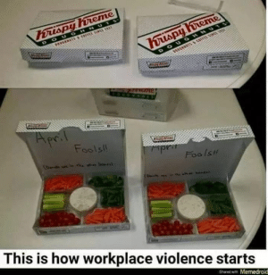 Memes, 🤖, and How: Fools  Foo Is  This is how workplace violence starts  Shared with Memedroid