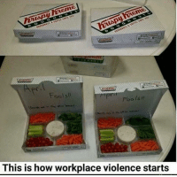 Brilliant, How, and Isi: Fools  Foo Isi  This is how workplace violence starts Brilliant 😂