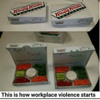 How, This, and This Is: Fools!  Foo ls  This is how workplace violence start:s Gottem