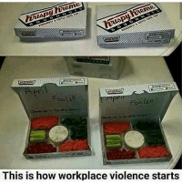 Memes, 🤖, and How: Fools  Fools  This is how workplace violence starts ohmybushes