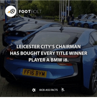 Who wants one? - Source: (mirror) http:-bit.ly-Leicester-BMWi8 - fact Footbolt leicestercity leicester football cars supercars sportscar BMW i8 bmwi8 Tag Your Friends⚡️⚡️⚡️ @footbolt - Follow @factofcomics for comics and movie facts: FOOT  BOLT  LEICESTER CITY'S CHAIRMAN  HAS BOUGHT EVERY TITLE WINNER  PLAYER A BMW i8.  FF16 BYM  a Kick-Ass FACTS Who wants one? - Source: (mirror) http:-bit.ly-Leicester-BMWi8 - fact Footbolt leicestercity leicester football cars supercars sportscar BMW i8 bmwi8 Tag Your Friends⚡️⚡️⚡️ @footbolt - Follow @factofcomics for comics and movie facts