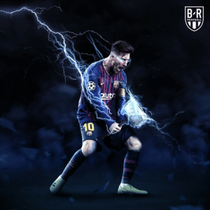 After scoring two goals in the first leg, Messi is Champions League Player of the Week ⭐️ (via Bleacher Report Football): FOOTBALL  0 After scoring two goals in the first leg, Messi is Champions League Player of the Week ⭐️ (via Bleacher Report Football)