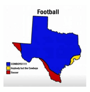 Dallas Cowboys, Football, and Soccer: Football  COWBOYSI!!  Anybody but the Cowboys  Soccer #5 Cowboys!