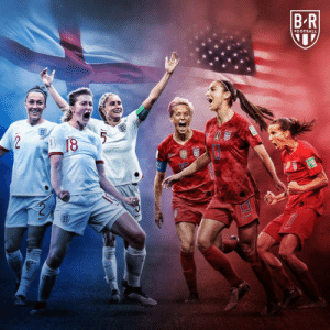 TODAY  England vs. USWNT  For a spot in the World Cup final 🏆: FOOTBALL  NSP  18  RAS TODAY  England vs. USWNT  For a spot in the World Cup final 🏆
