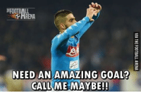 RealMadrid 0-1 Napoli: FOOTBALL  RENA  NEED AN AMAZING GOAL?  (CALL ME MAYBE! RealMadrid 0-1 Napoli