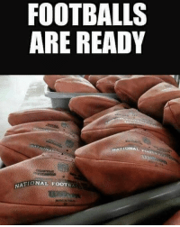 Are y'all ready for the SuperBowl?! ⠀😂💀🏈 Patriots Eagles WSHH: FOOTBALLS  ARE READY  TIONAL FOOTBAL  NA Are y'all ready for the SuperBowl?! ⠀😂💀🏈 Patriots Eagles WSHH