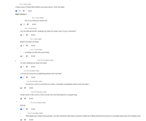 """does this go to r/woooosh or here?: For 1 time siden  I hope some of these flat earthers are paid actors. Smh my head  105 SVAR  Skjul svarene A  For 1 time siden  mh is my head you dumb  ass  15 SVAR  For 1 time siden  Can we talk about the """"shaking my head my head"""" part of your comment?  3SVAR  For 1 time siden  Shake my head my head  3SVAR  For 1 time siden  probably not tbh they were there  1SVAR  For 57 minutter siden  I'm also shaking my head my head  1 SVAR  For 55 minutter siden  r/woosh @ everyone complaining about smh my head  6SVAR  For 54 minutter siden  woosh to u since u wooshed me when i ironically complained about smh my head:)  SVAR  For 52 minutter siden  I hope none of the actors in this movie ever find themselves in a paper bag  SVAR  For 52 minutter siden  Woosh  1 SVAR  For 41 minutter siden  Pewdiepie just made dumb people r/woosh whenever they think someone might be trolling whereas the person is actually dumb and isn't trolling none  SVAR does this go to r/woooosh or here?"""