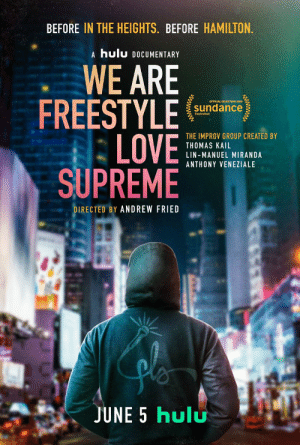 For 15 years, before anyone knew or cared, @Andrew_Fried followed us with a camera. The result is the documentary #WeAreFreestyleLoveSupreme, and I can't believe you get to watch it next Friday on @hulu. Trailer drops tomorrow.  ❤️❤️❤️ https://t.co/moxGi7nPsS: For 15 years, before anyone knew or cared, @Andrew_Fried followed us with a camera. The result is the documentary #WeAreFreestyleLoveSupreme, and I can't believe you get to watch it next Friday on @hulu. Trailer drops tomorrow.  ❤️❤️❤️ https://t.co/moxGi7nPsS
