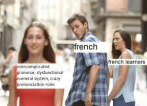 For all the French students out there: I asked my French teacher about why accents switch directions with different conjugations, and she replied with this: For all the French students out there: I asked my French teacher about why accents switch directions with different conjugations, and she replied with this