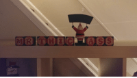 Christmas, Decoration, and Mother: For anyone else whos mother has a decoration that spells out Christmas in blocks