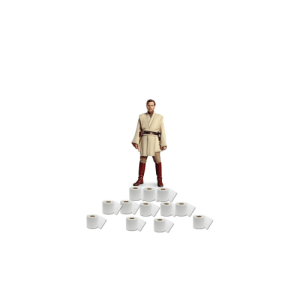 For every like, General Kenobi receives an additional toilet paper roll so he can get the high ground and help the other General Kenobi that gains High Ground every day defeat General Grievous. Day 1 - 15 likes. Day 2: For every like, General Kenobi receives an additional toilet paper roll so he can get the high ground and help the other General Kenobi that gains High Ground every day defeat General Grievous. Day 1 - 15 likes. Day 2