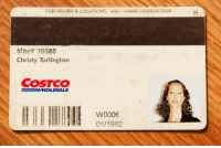 Costco, Com, and For: FOR HOURS & LOCATIONS, VISIT WWW COSTCO COM  Mbrtt 30585  Christy Turlington  COSTCO  W0006  01/1992