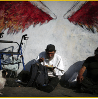 For Iranian New Year, or Nowruz, Iranian-American volunteers served food to the homeless community living near Los Angeles' Skid Row. Photo: Reuters ajplusphoto nowruz persiannewyear volunteerwork iranianamerican skidrow homelessness iraniannewyear losangeles iran: For Iranian New Year, or Nowruz, Iranian-American volunteers served food to the homeless community living near Los Angeles' Skid Row. Photo: Reuters ajplusphoto nowruz persiannewyear volunteerwork iranianamerican skidrow homelessness iraniannewyear losangeles iran