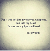 Love goes beyond the surface. #EssenceSuites #OrlandPark #Whisper #TouchMyHeart #KissMe #TouchMySoul #WCW #HumpDay #LoveMeme #Romance #ChicagoCouple #Chicagoland #CouplesRetreat #Getaway #LuxuriousResort #ChicagoStays #RoomsForTwo #HotTub #SpoilMe: For it was not into my ear you whispered,  but into my heart.  It was not my lips you kissed,  but my soul. Love goes beyond the surface. #EssenceSuites #OrlandPark #Whisper #TouchMyHeart #KissMe #TouchMySoul #WCW #HumpDay #LoveMeme #Romance #ChicagoCouple #Chicagoland #CouplesRetreat #Getaway #LuxuriousResort #ChicagoStays #RoomsForTwo #HotTub #SpoilMe