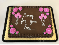 Funny, Work, and Cake: for  la  ottr Today was my last day at work, so I bought the team a cake